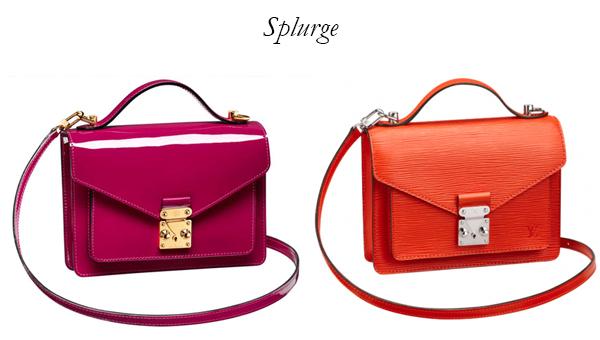 Louis Vuitton BB Monceau Bag