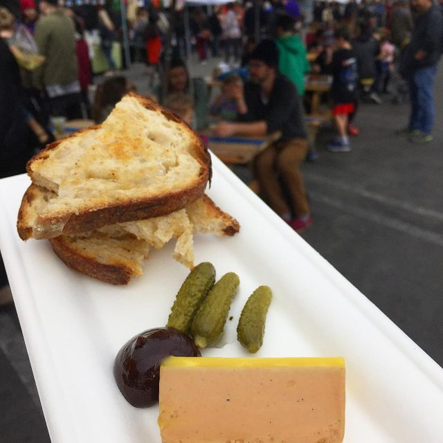 Street foie gras smorgasburgla this place is so fun Tonshellip