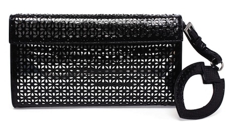 Azzedine Alaïa Python Leather Clutch