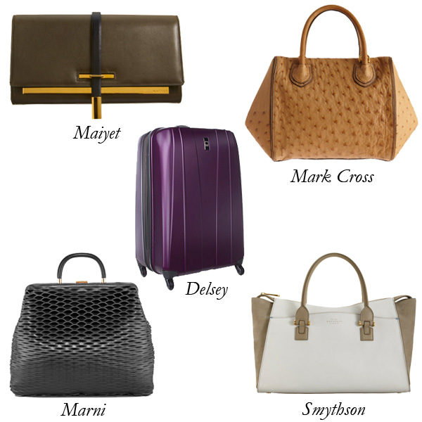 Maiyet, Delsey, Mark Cross, Smythson, Marni Mother's Day Bags