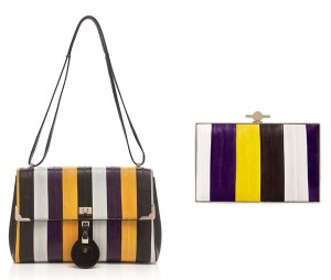 Jason Wu Striped Jourdan 2, Karlie Box Clutch