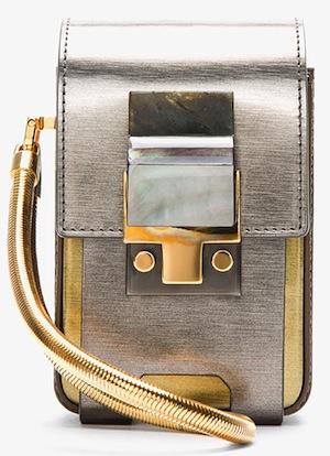 Lanvin Metallic Camera Bag