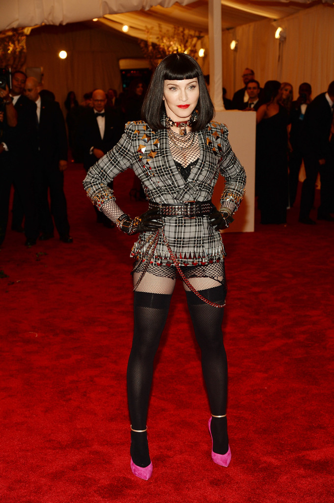 Madonna in Givenchy Haute Couture at the Met Gala