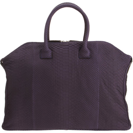 Zagliani Python Tomodachi Bag