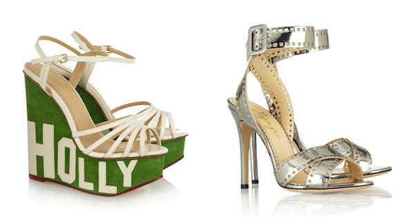 Charlotte Olympia Hollywood Sandals