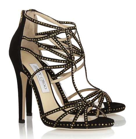 Jimmy Choo Vendetta Swarovski Sandals
