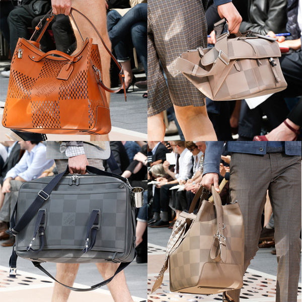 Louis Vuitton SS14 Men's Bags
