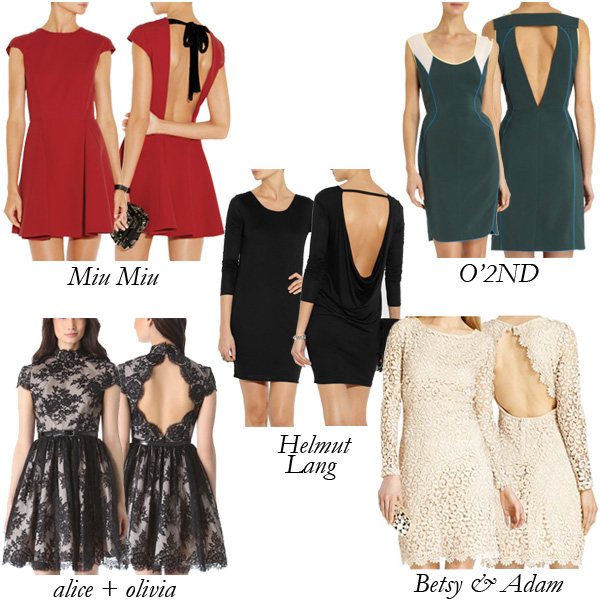 Top 5 Open-Back Mini Dresses: Fashion Flipside