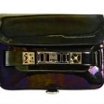 Proenza Schouler PS11 Mini Oil Slick Lea Bag