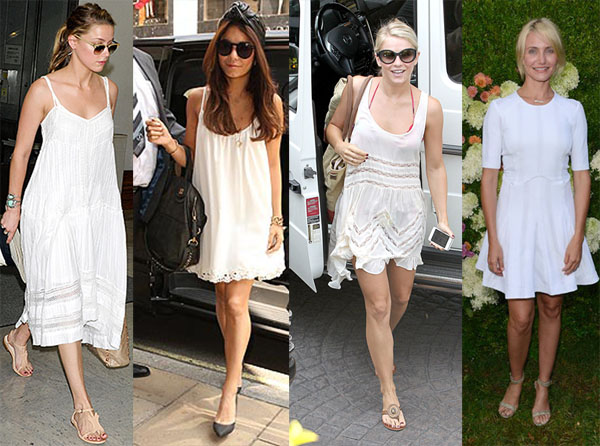 Celebrity_White_Summer_Dresses