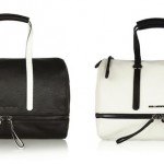 Karl Lagerfeld Bowletto Expandable Leather Tote