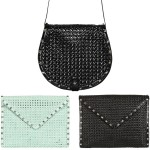 Rebecca Minkoff Owen and Skylar Studded Woven Bags