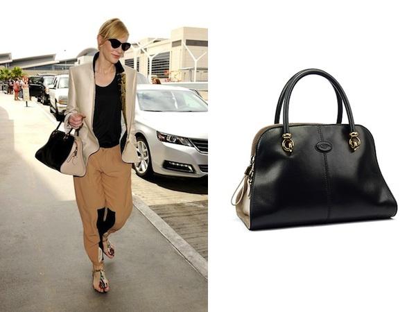 Cate Blanchett x Tod's Sella Bag