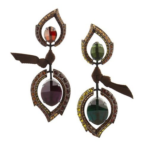 Lanvin Mismatched Earrings