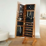 Lori Greiner Mirrored Jewelry Cabinet