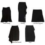 The Not So Basic Black Skirt
