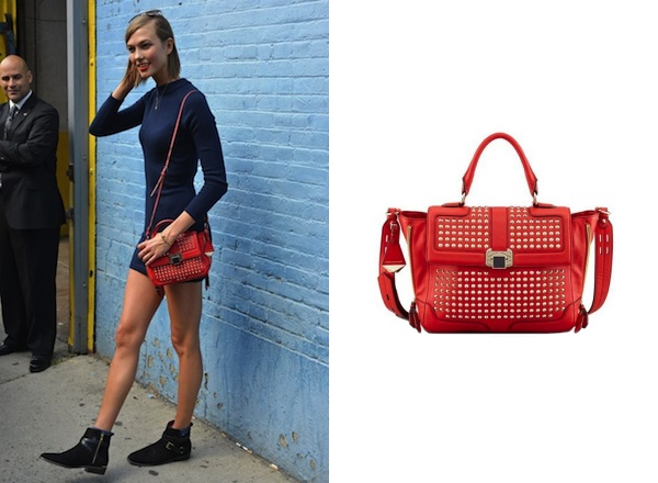 Karlie Kloss x Rebecca Minkoff Elle Mini Studded Bag