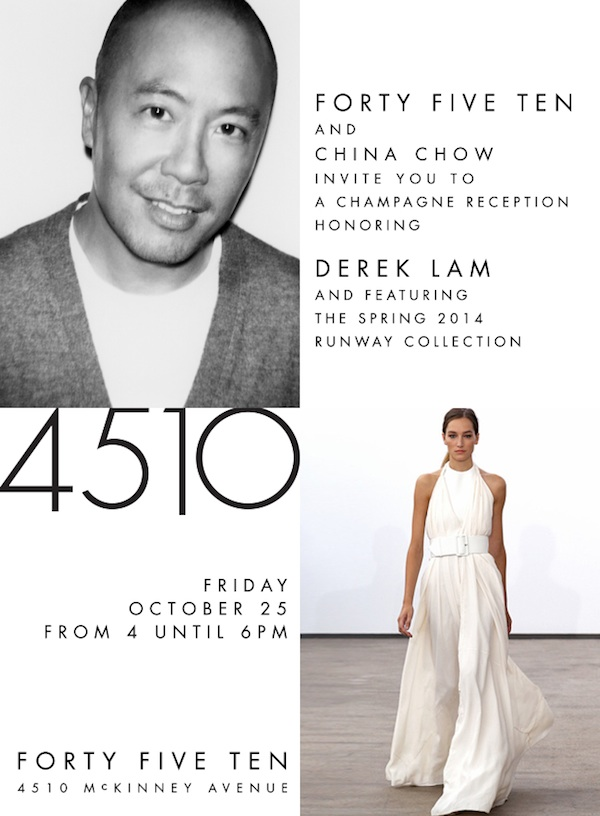 Forty Five Ten and China Chow Fete Derek Lam