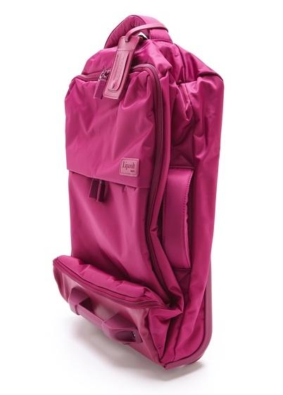 "Lipault Paris Foldable 22"" Wheeled Carry On Bag"