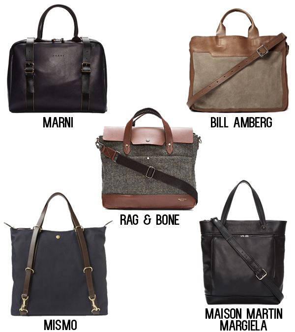 Top 5 Fall Man Bags
