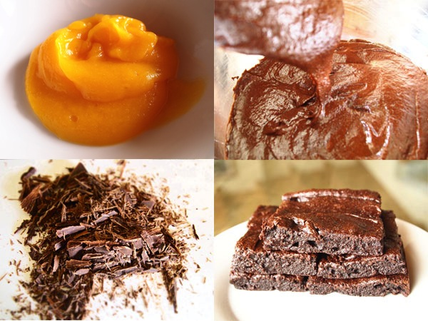 Turn Your Pumpkin into a Low-Calorie Brownie