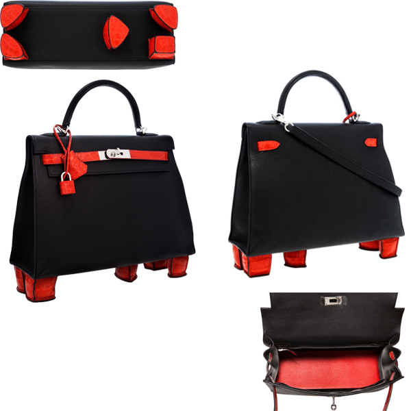 One-of-a-Kind Hermès Kelly with Feet