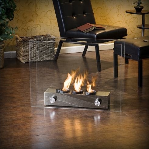 Holly & Martin Hudson Portable Indoor/Outdoor Gel Fireplace