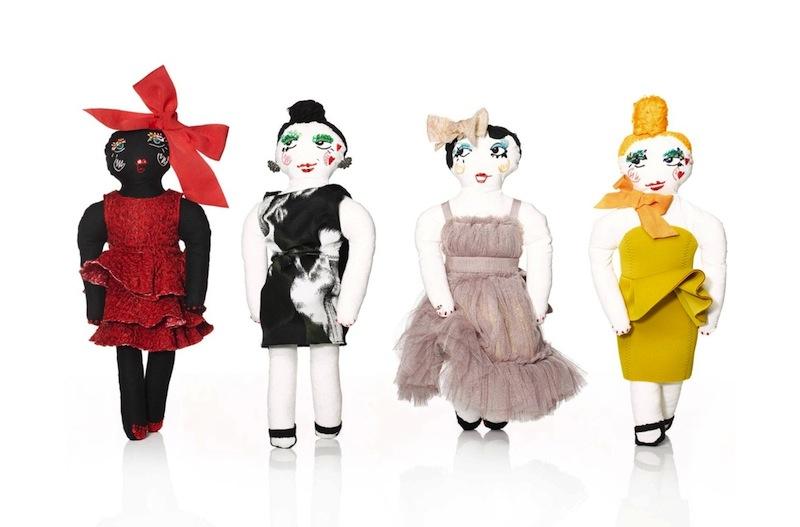 Lanvin Dessine l'Espoir Dolls