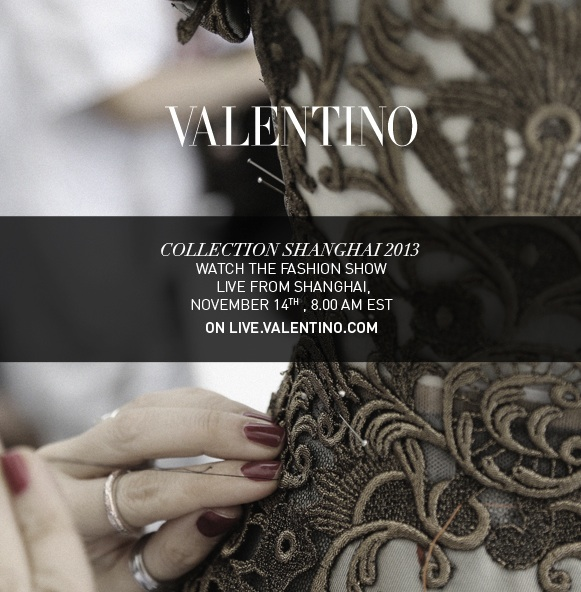 Valentino Shanghai Collection Fashion Show