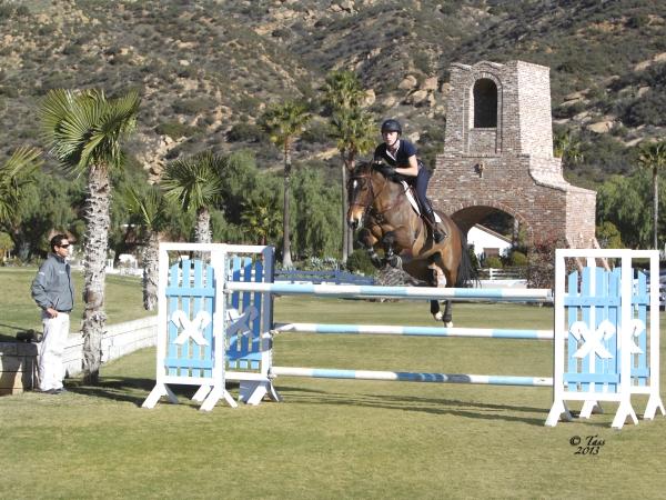 Stefanie Saperstein Horse Jumping