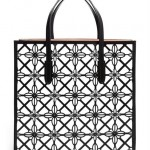 Azzedine Alaïa Laser-Cut Leather Tote Bag