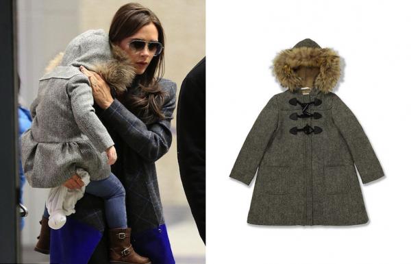 Harper Beckham x Marie-Chantal Duffle Coat