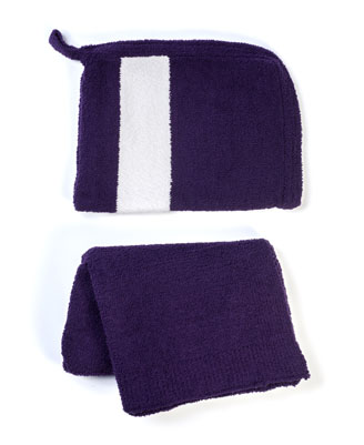 Kashwere Mini Throw with Zip Pouch