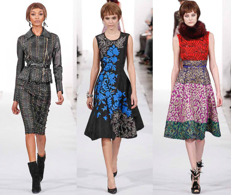 Oscar de la Renta Fall 2014 Collection
