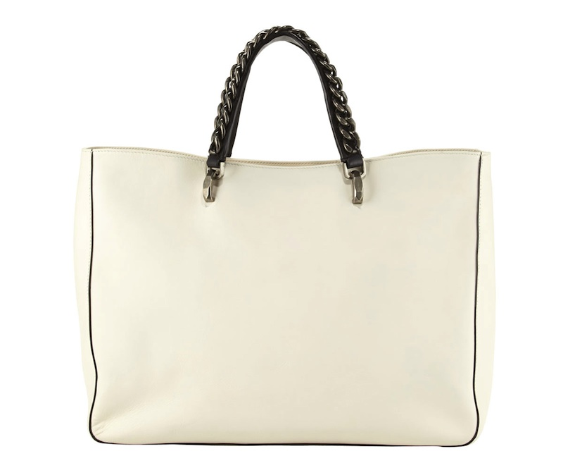 BOYY Jacques Chain-Trim Leather Tote