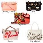 Floral Aplique Bags