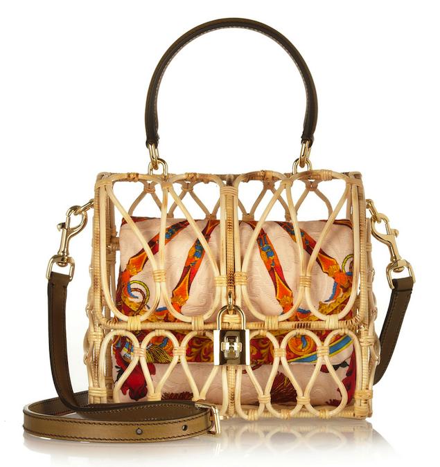 Dolce & Gabbana Rattan Bag