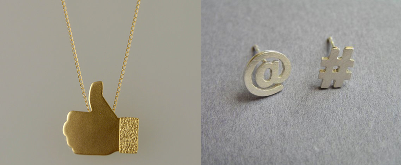 Social Media Jewelry