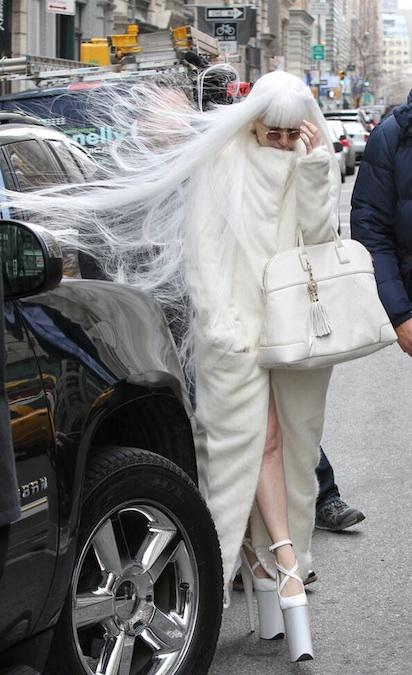 Lady Gaga x Versace Athena Bag