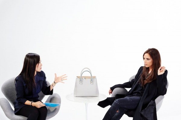 Victoria Beckham Skype Collaboration