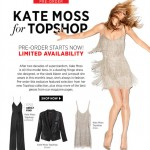 Kate Moss for Topshop Pre-Order