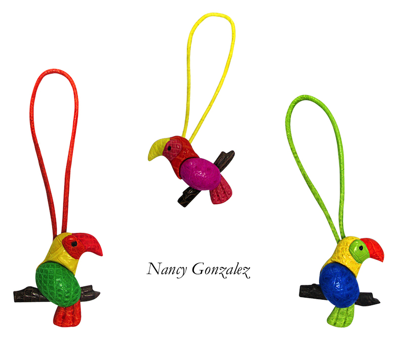 Nancy Gonzalez x Bergdorf Goodman Tropical Event: Free Birds