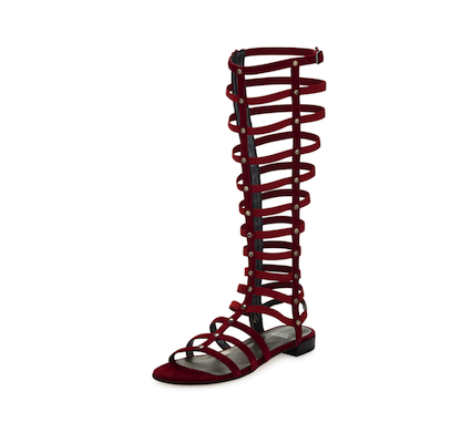 Stuart Weitzman Gladiator Sandals: The Cage Fight