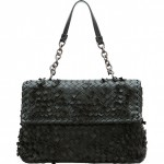 Bottega Veneta Olimpia Tobu Fringe Shoulder Bag