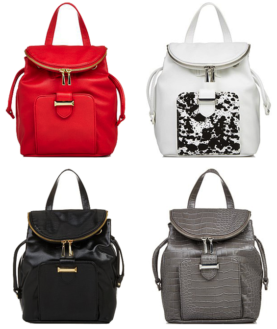 Snob Essentials Spring/Summer 2014 Backpacks