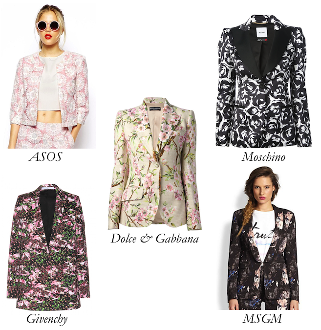 Top 5 Floral Blazers: In Full Bloom