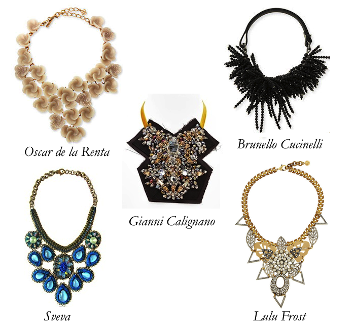 Abundantly Bold Bib Necklaces: The Secret of My Excess