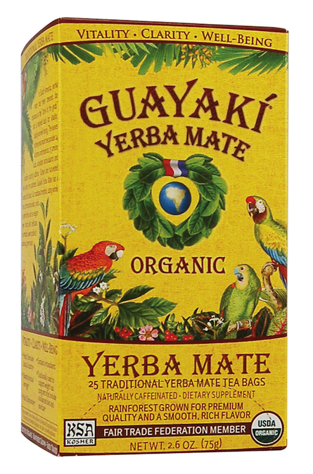 Forget Coffee - Sip Guayaki Organic Yerba Mate Instead