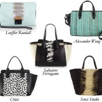 Center Paneled Bags