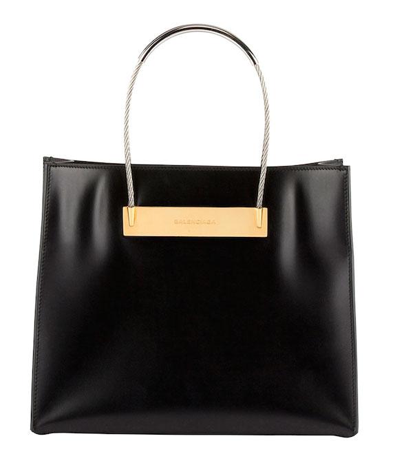 Balenciaga Cable Strap Small Shopper Bag